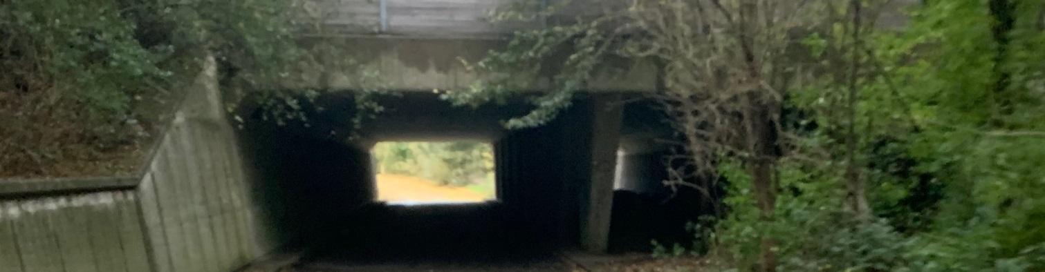 Licht fietstunnel